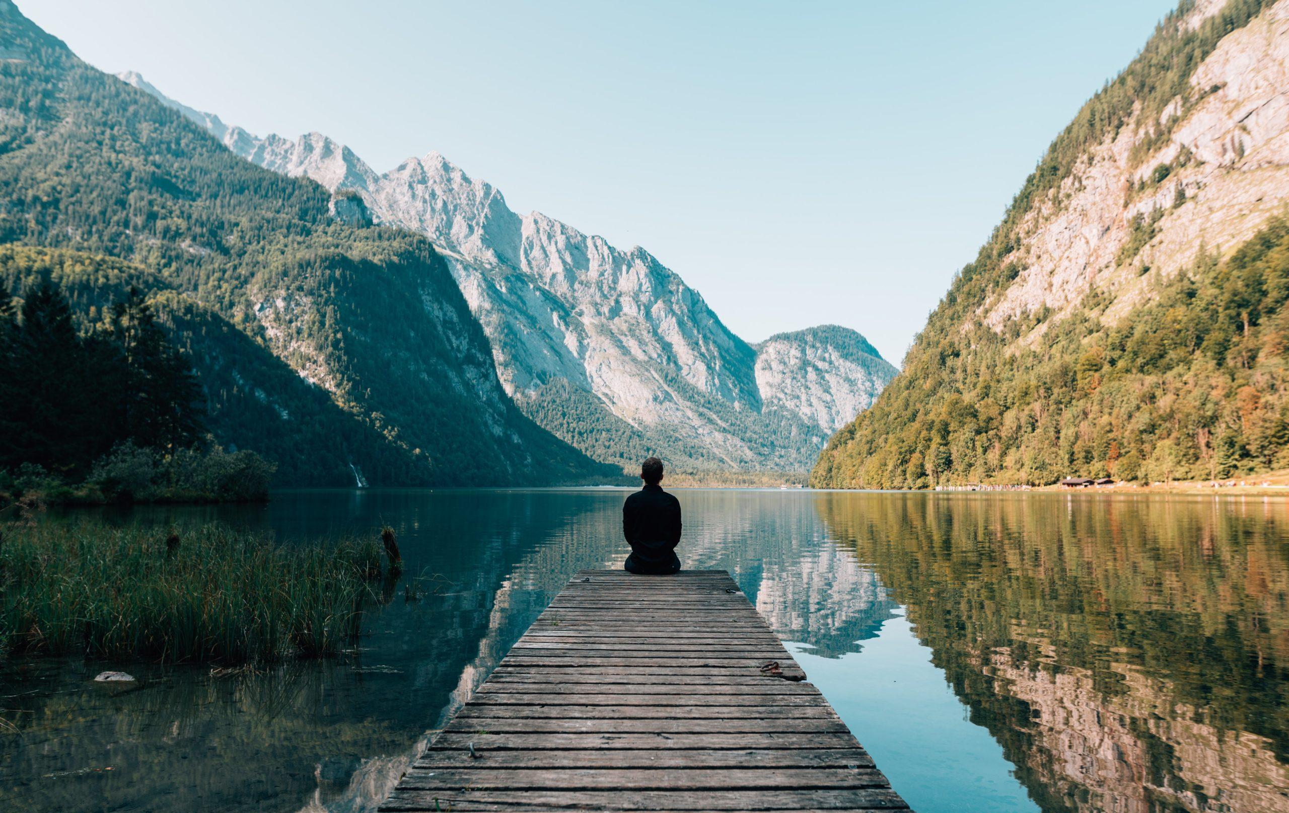 meditation en montagne